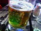 Znásilnění piva zelenou
